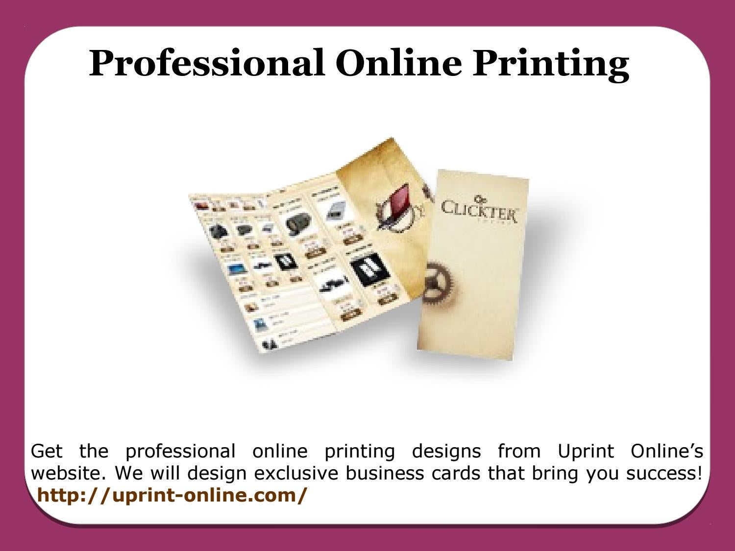 Business Cards Online Printing by James Woodward - issuu