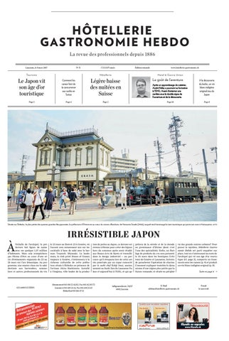 HG-Hebdo 5/2017 by Hotellerie_Gastronomie_Verlag - issuu