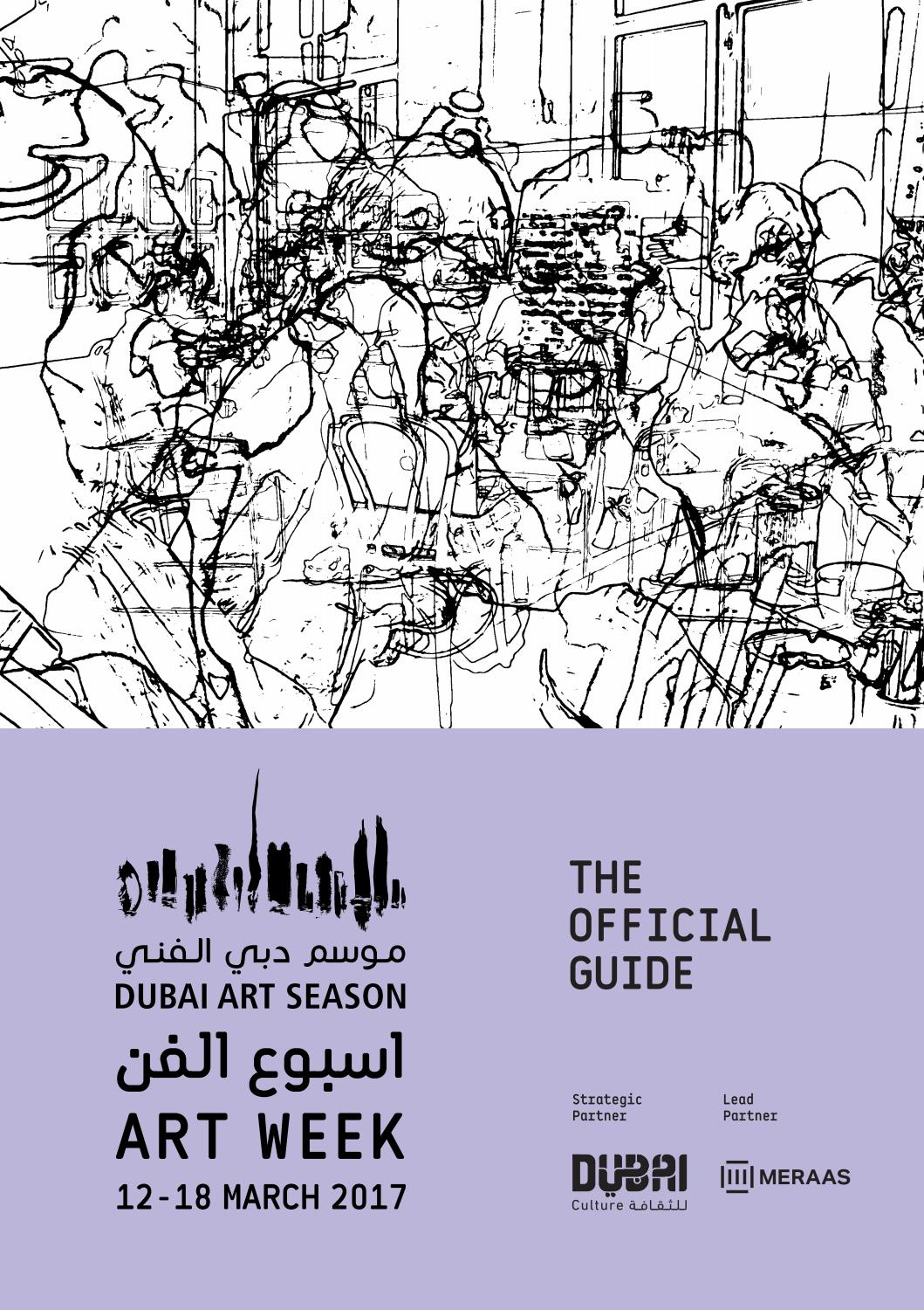 Art Week 2017 By Dubai Issuu Block Diagram Sbd Audio Dock Portable Ticom