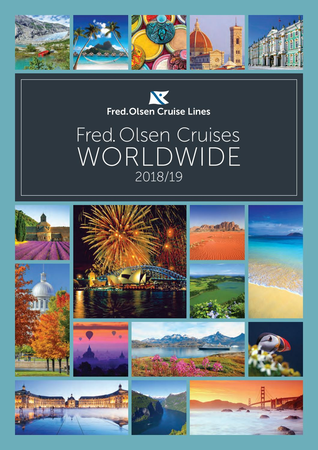 Fred Olsen Cruise Lines Worldwide 2018 2019 Brochure By