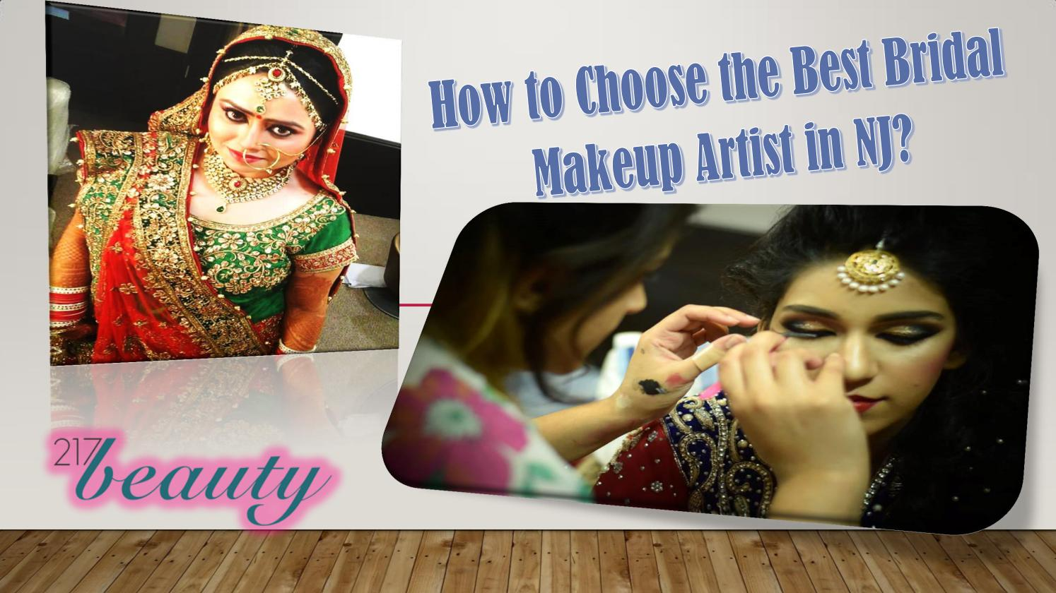 How to choose the best bridal makeup artist in nj