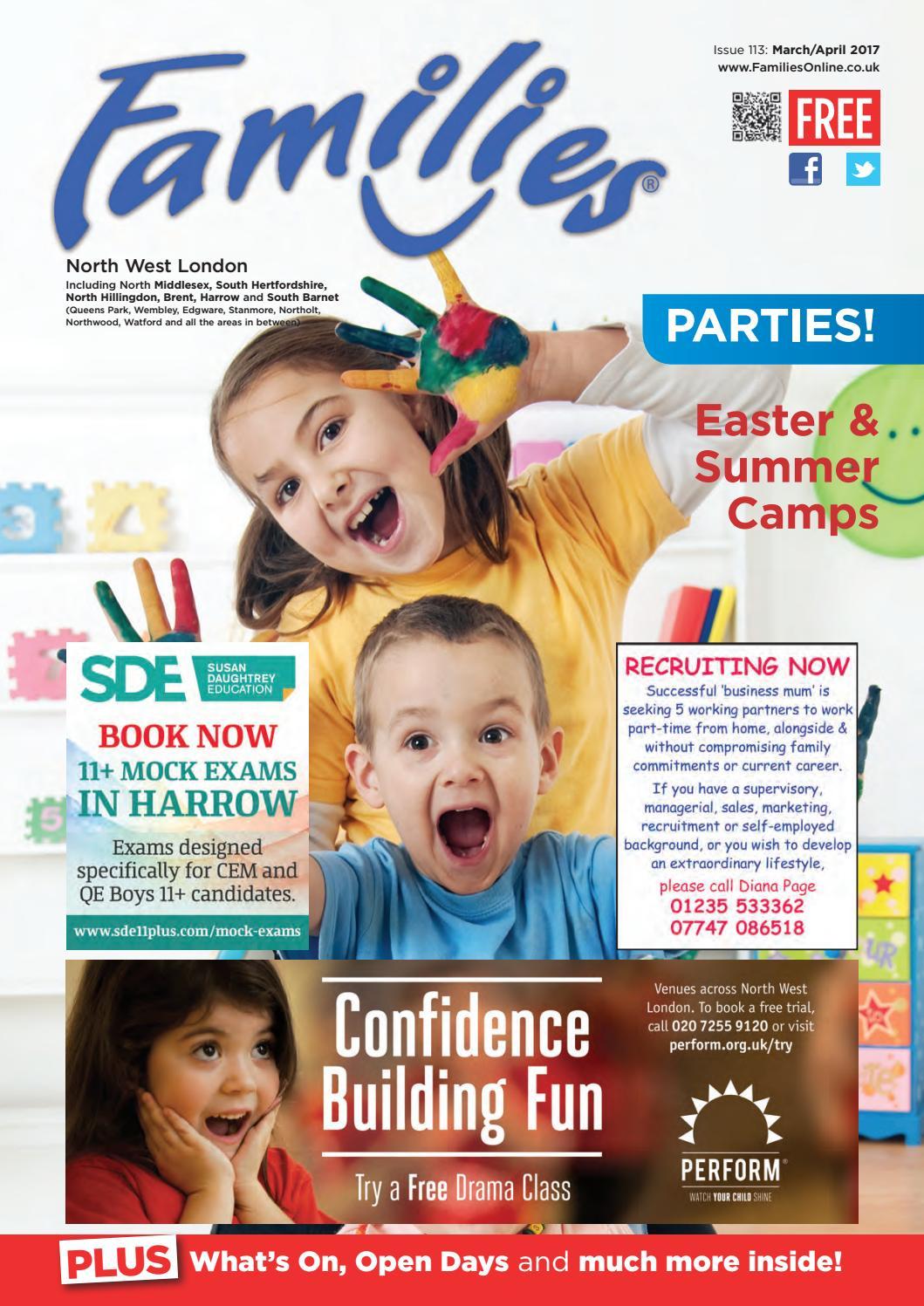 ae2fd0867b5 Families North West London Mar Apr 2017 Issue 113 by Heather ...