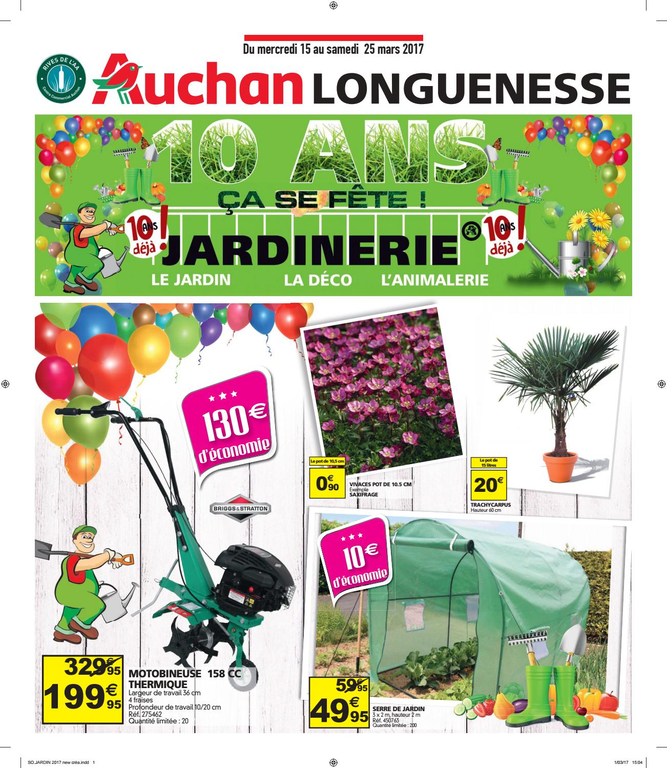 catalogue jardinerie auchan