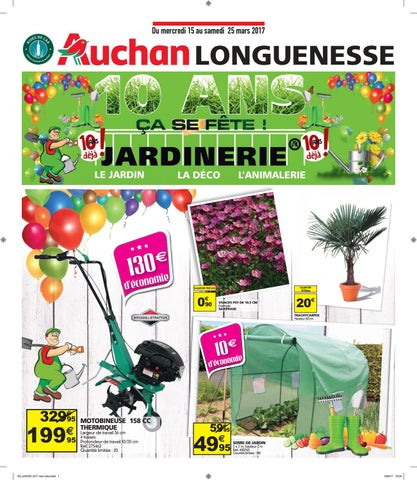 Tract Anniversaire 10 Ans Jardinerie By Auchan Saint Omer