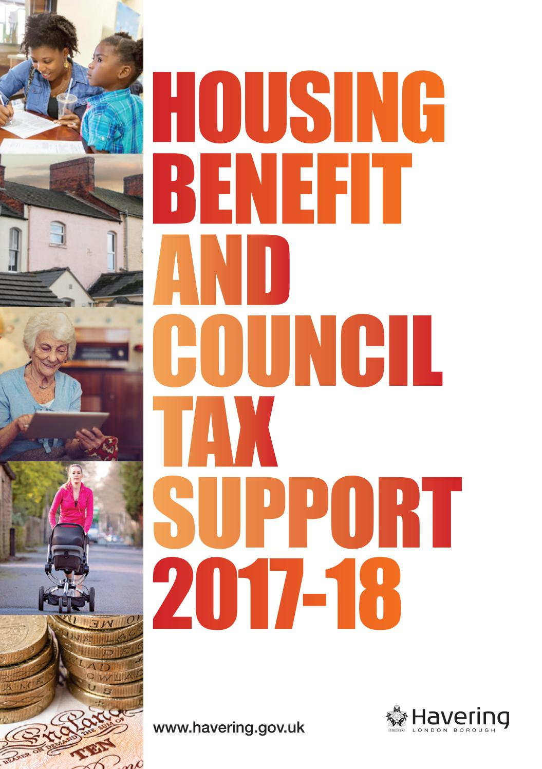 havering's housing benefit and council tax support for 2017-18 by