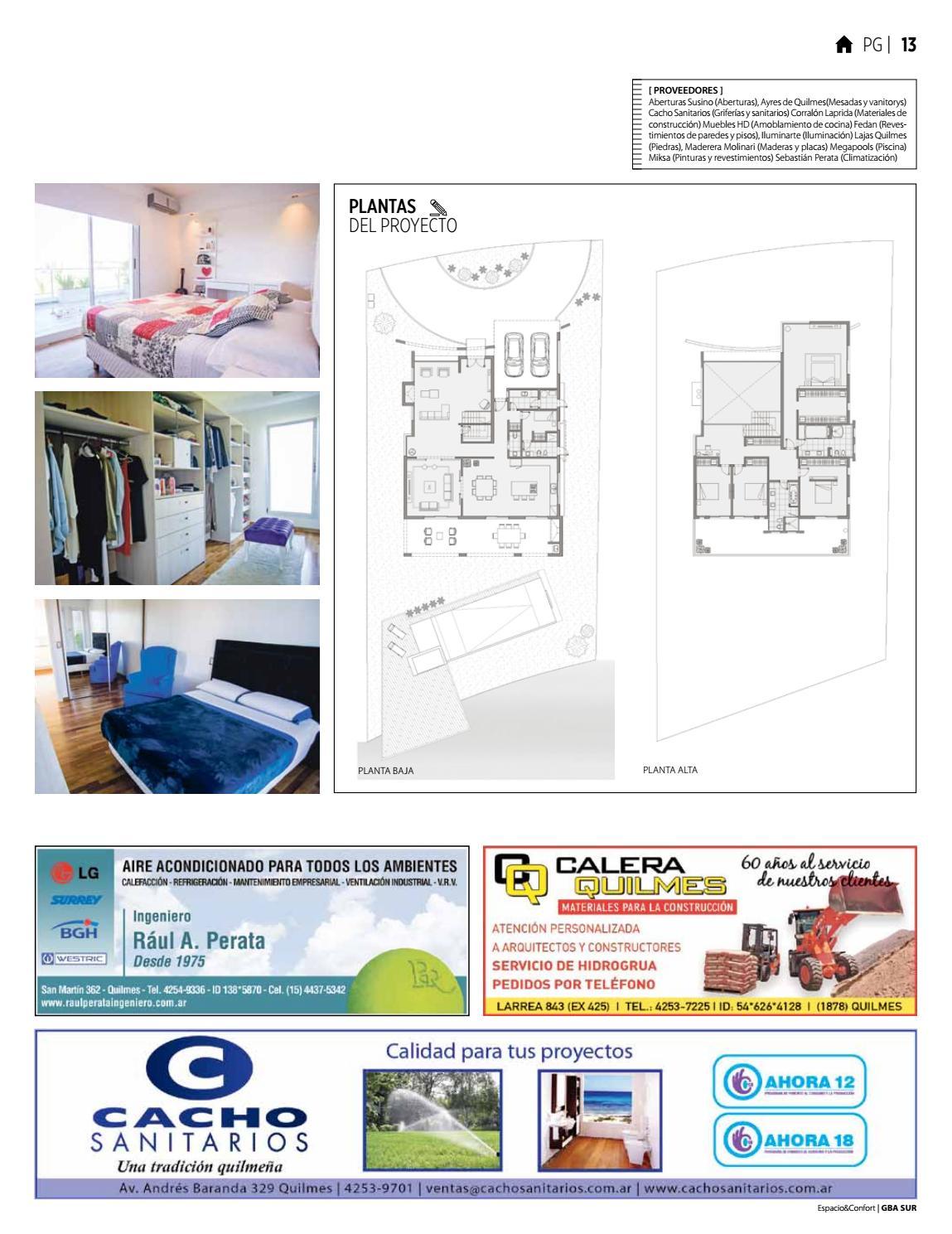 109 Gba Marzo 2017 By Revista Espacio Confort Arquitectura  # Muebles Laprida