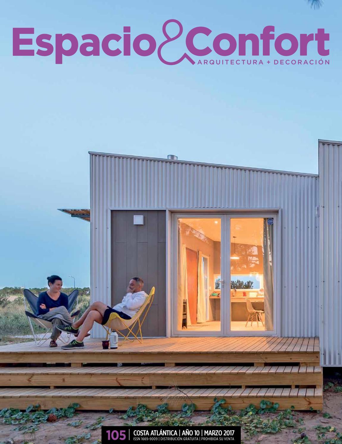 105 Costa Marzo 2017 By Revista Espacio Confort Arquitectura  # Muebles Luberto Mar Del Plata
