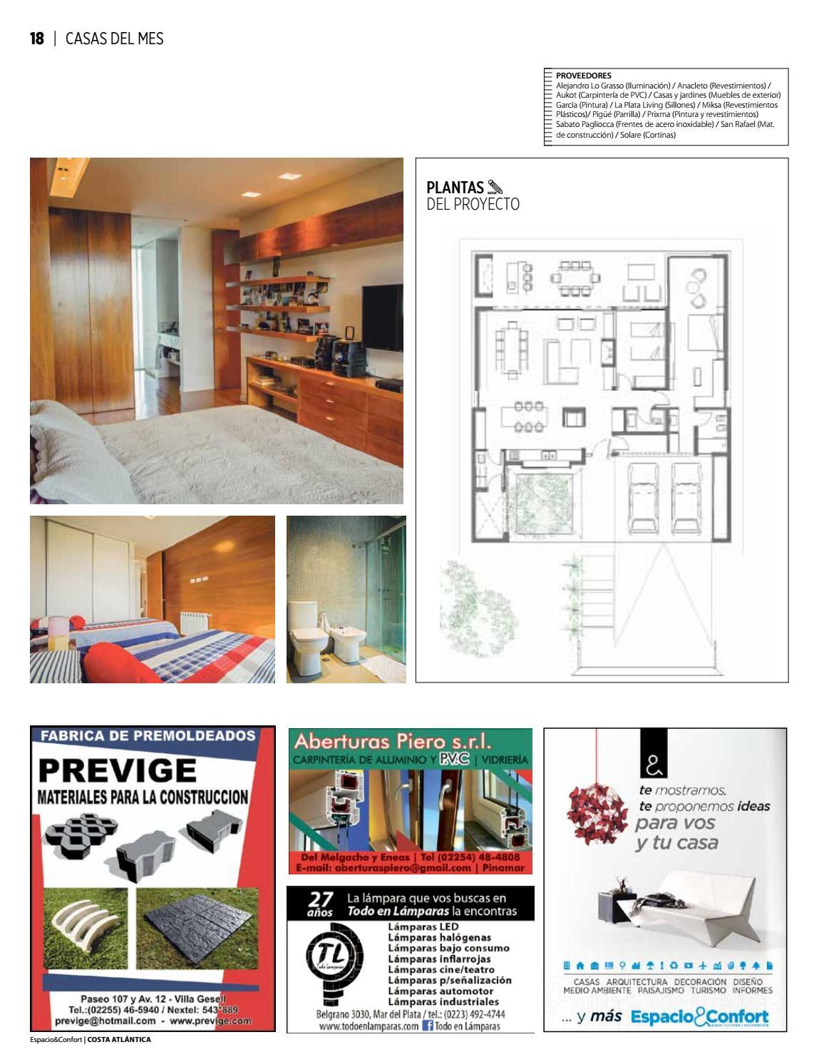 105 Costa Marzo 2017 By Revista Espacio Confort Arquitectura  # Next Rafael Muebles