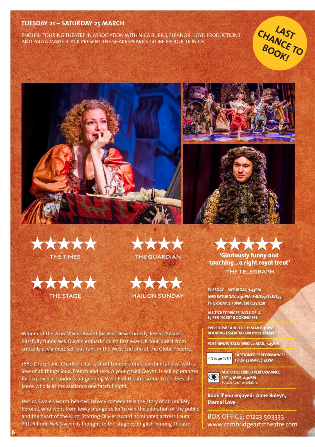 Summer 2016 Brochure by Cambridge Arts Theatre - Issuu
