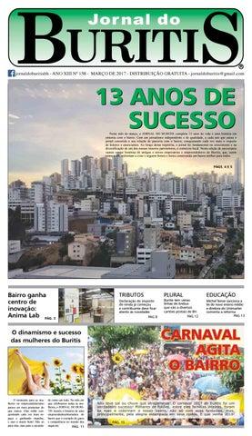 d5942a8ebf Jornal do Buritis março 2017 - Edição de aniversário 13 anos by ...
