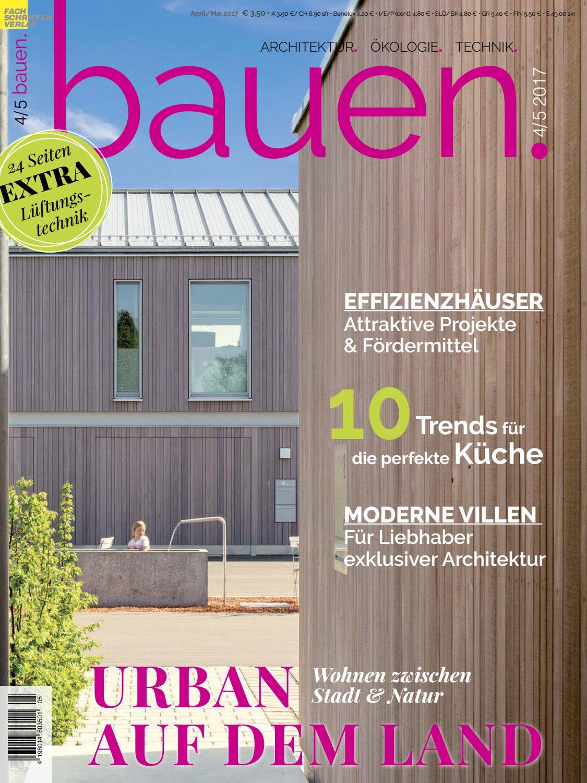 Bauen 45 2017 By Fachschriften Verlag Issuu