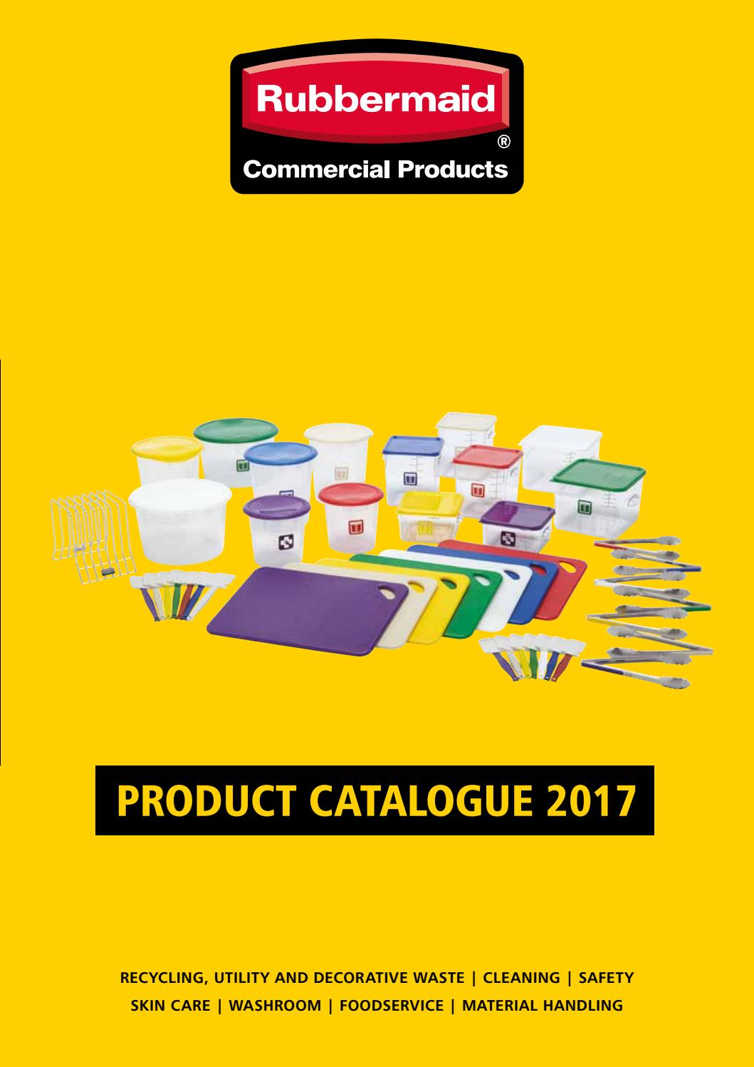 Catalogue Rubbermaid 2017 By Vario Issuu