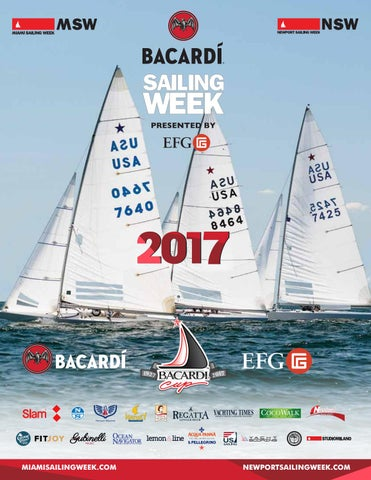 Bacardi Miami Sailing Week 2017