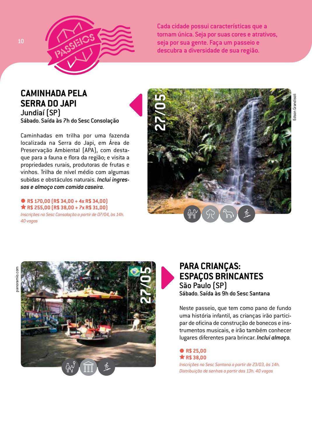 e775ed5abd15 Turismo Social | MAIO e JUNHO| 2017 | Sesc em São Paulo by Turismo Social -  issuu