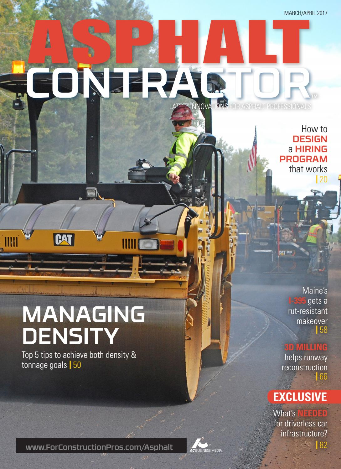 Asphalt Contractor March/April 2017 by ForConstructionPros