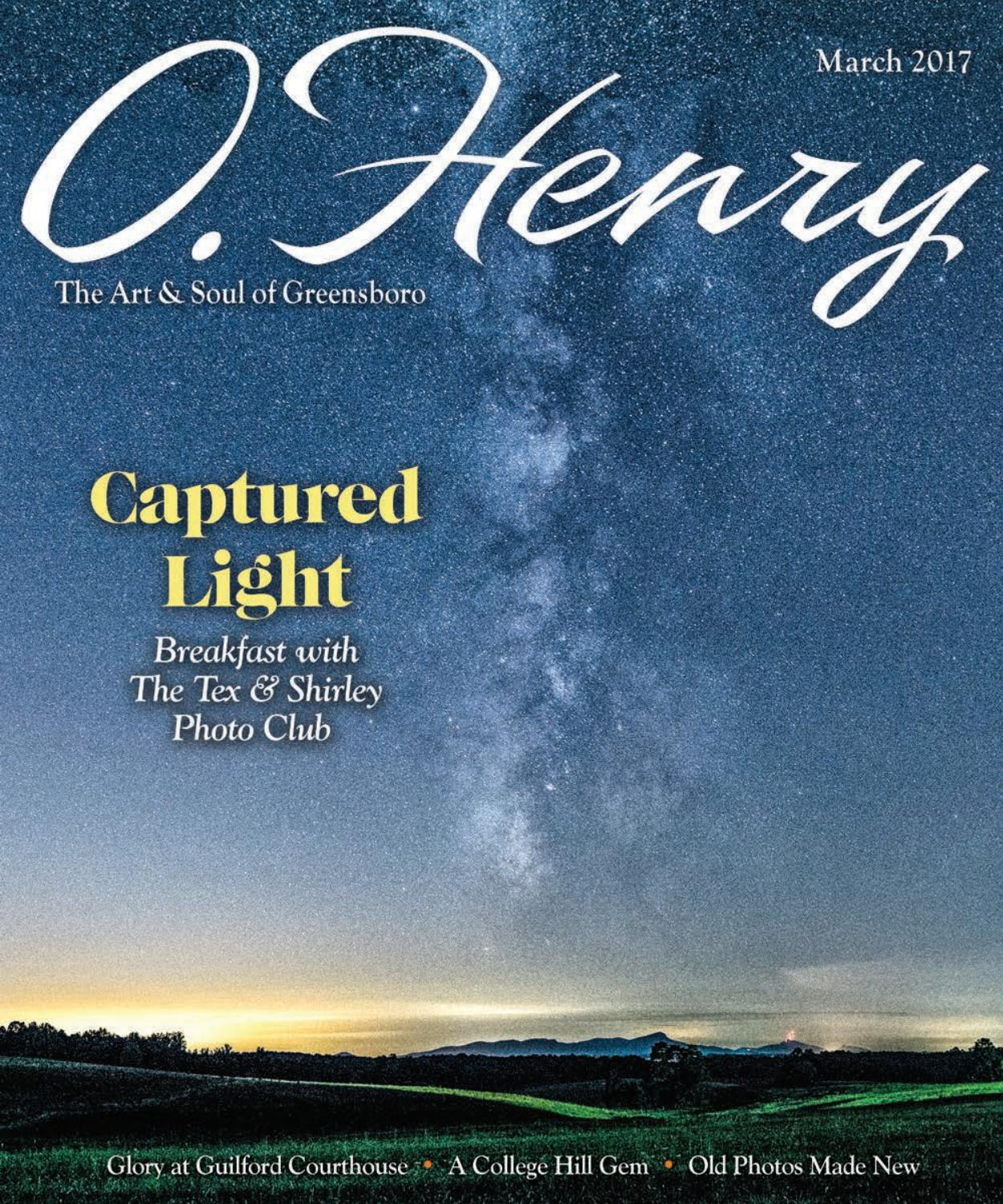 O.Henry March 2017 by O.Henry magazine - issuu