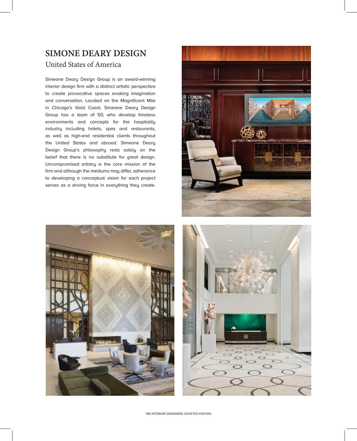 top 100 interior designers by covet edition issuu rh issuu com