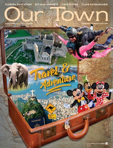 Our Town 2017 MAR APR Newberry & Jonesville by Tower Publications