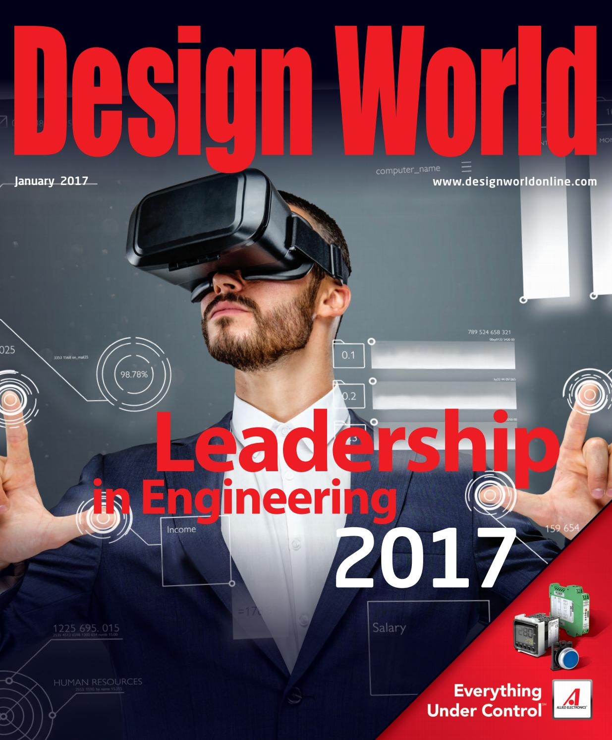 Design World January 2017 Leadership Pages By Wtwh Media Llc Issuu Surfacemounted Junction Box 75 X Mm Ip65 Ap75 Abb Oy Wiring