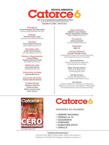 Catorce6edc47 by Revista Ambiental Catorce6 - issuu