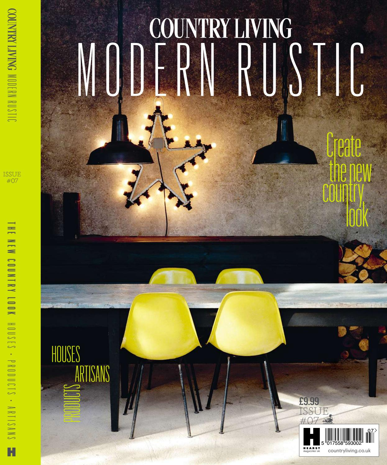 country living modern rustic feature issue 07 by jamie blake issuu. Black Bedroom Furniture Sets. Home Design Ideas