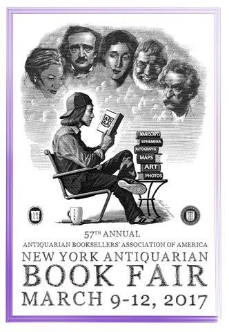 6826e13a801 2017 NY Antiquarian Book Fair Catalog by Sanford L. Smith + ...