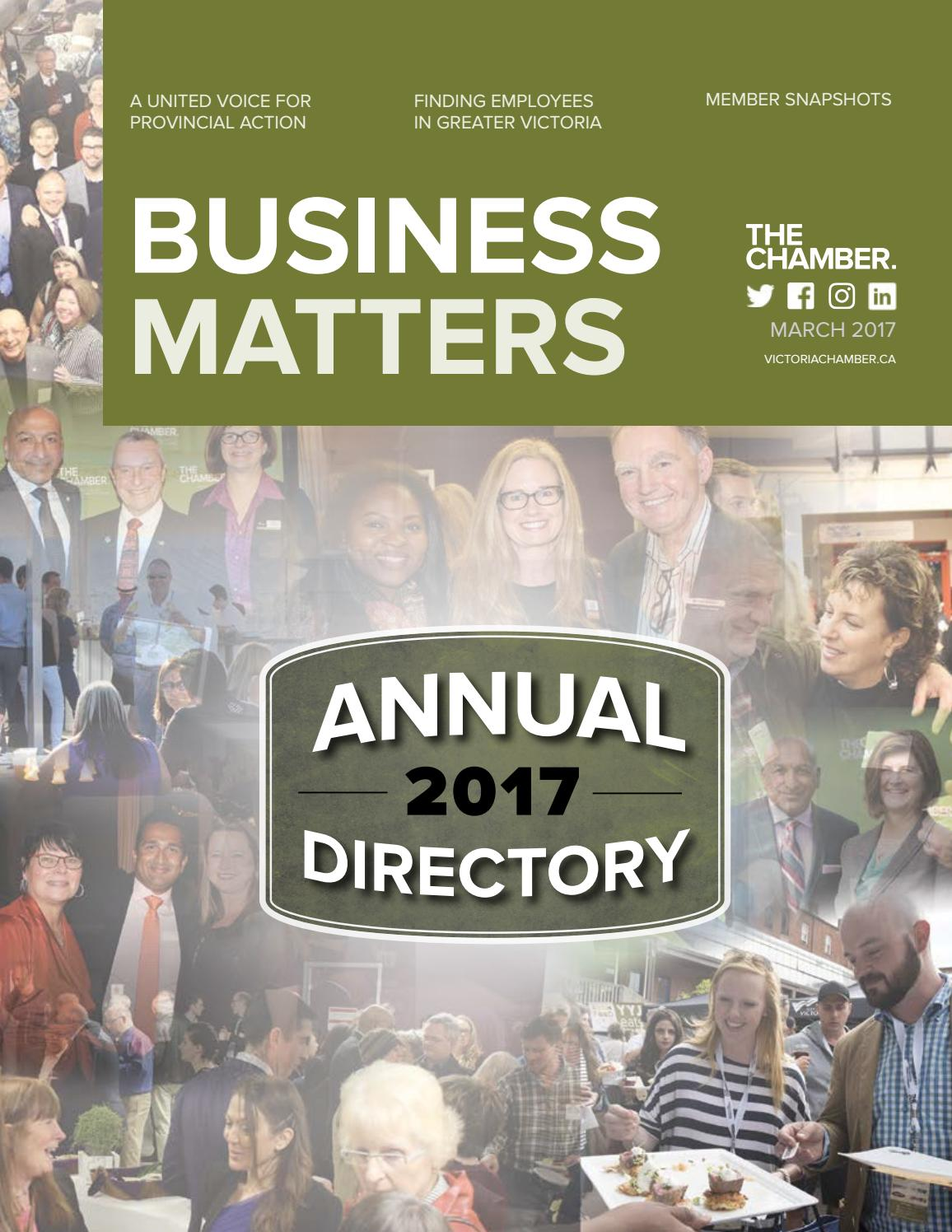 March Business Matters 2017 by Greater Victoria Chamber of Commerce - issuu 828157aae21