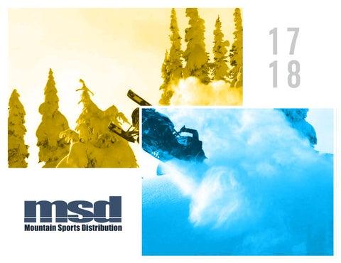 e898c72ccae MSD 2017 18 Catalogue by Mountain Sports Distribution - issuu