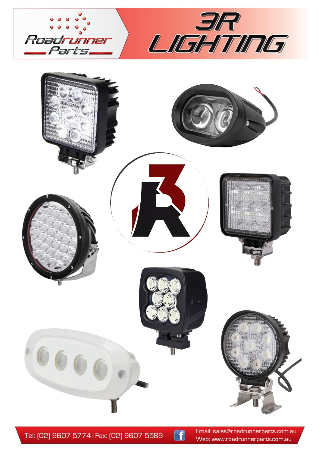3r Lighting Catalogue 2017 By Roadrunner Parts Issuu