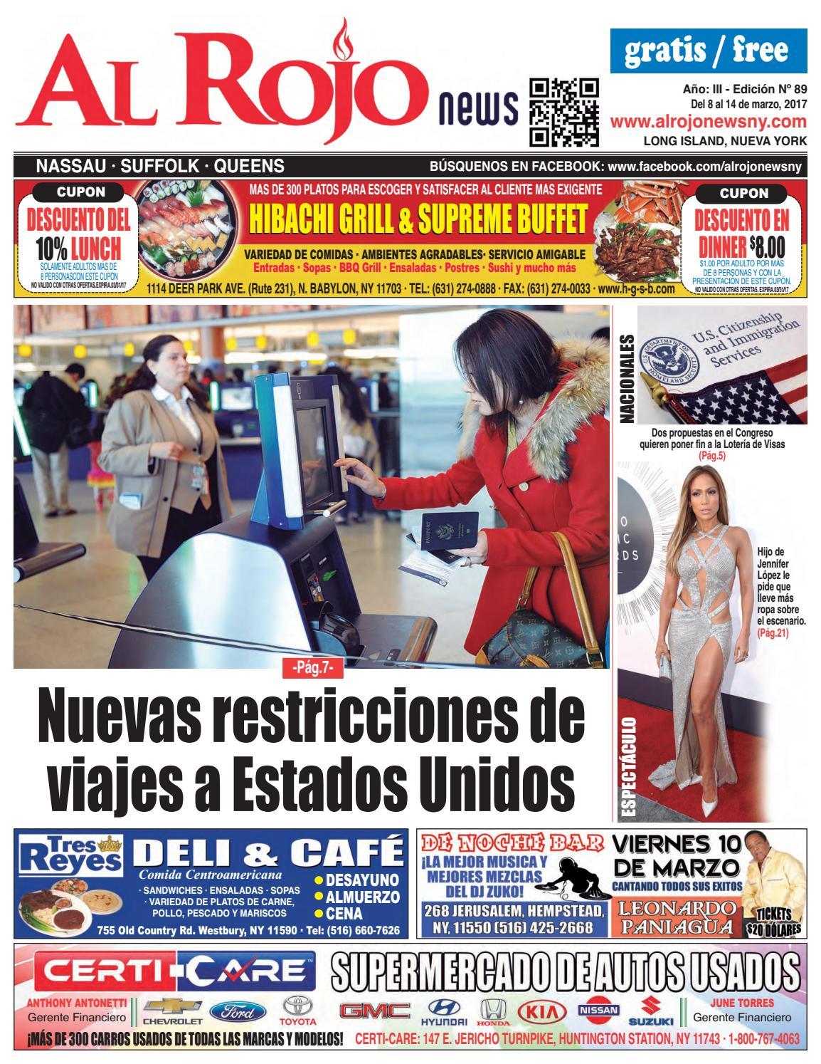 Al Rojo News año III edición 89 by Jose Rivas - issuu