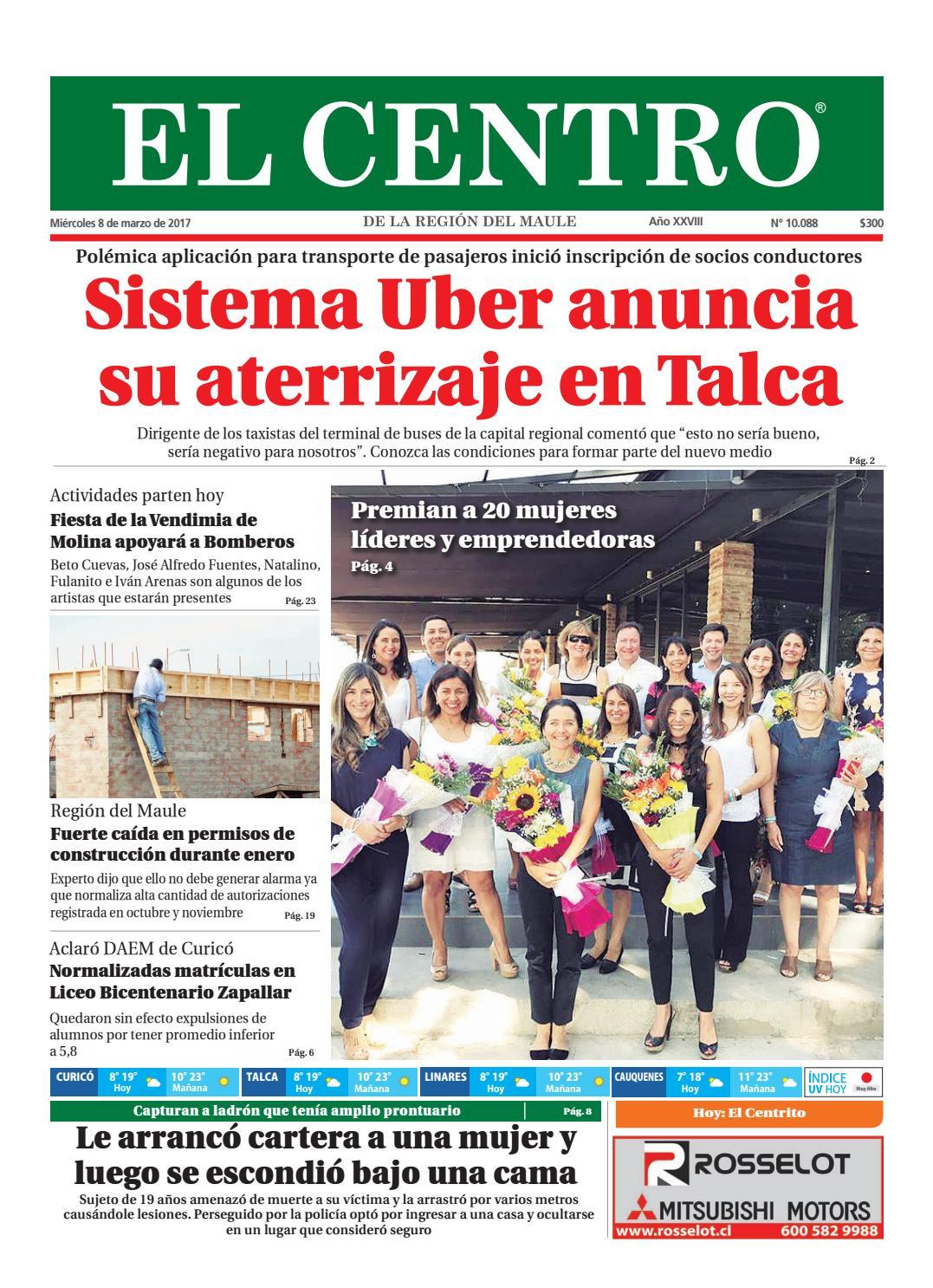Diario 08 03 2017 by Diario El Centro S.A - issuu
