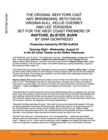 Epub script blister rapture burn