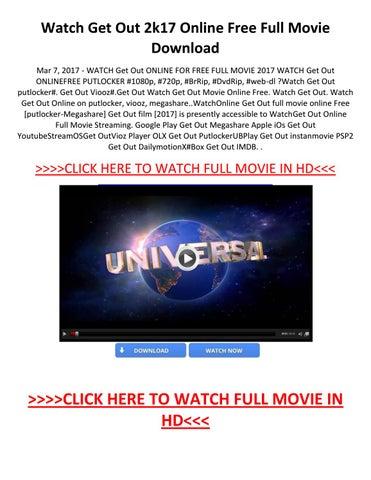 watch get out 2017 online free putlockers