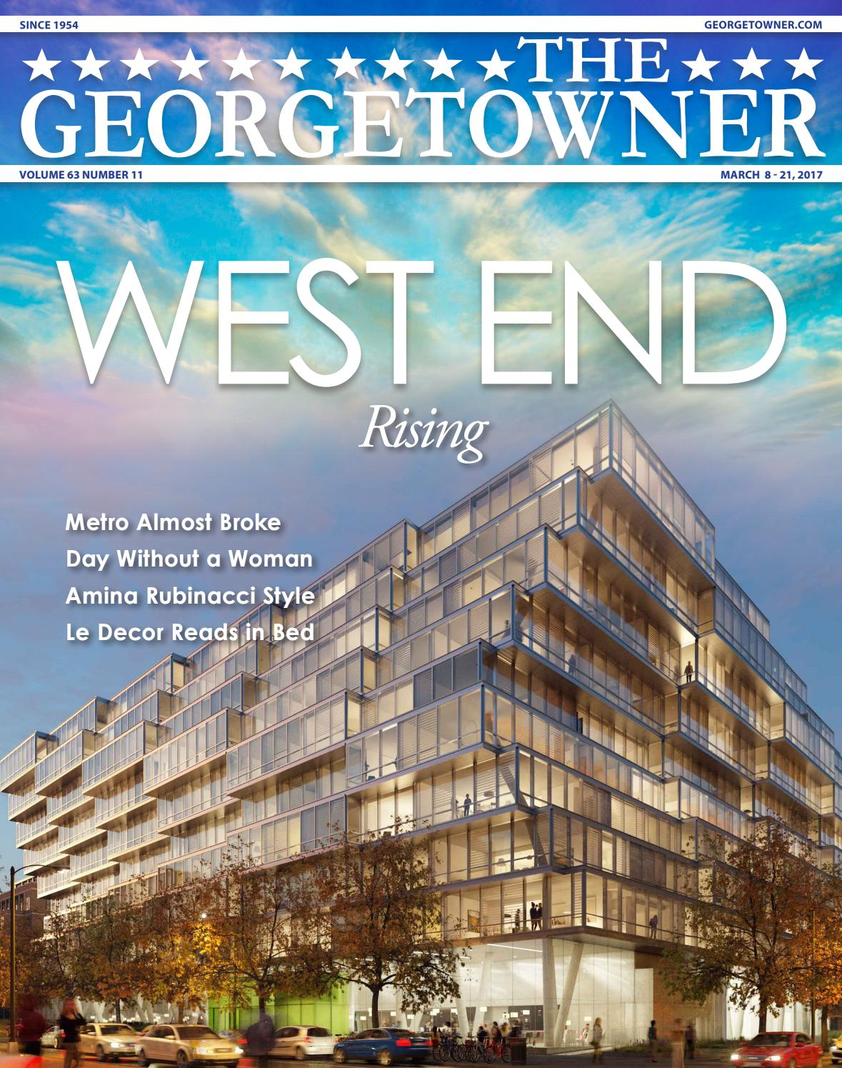 the georgetowner u0027s march 8 2017 issue by georgetown media group