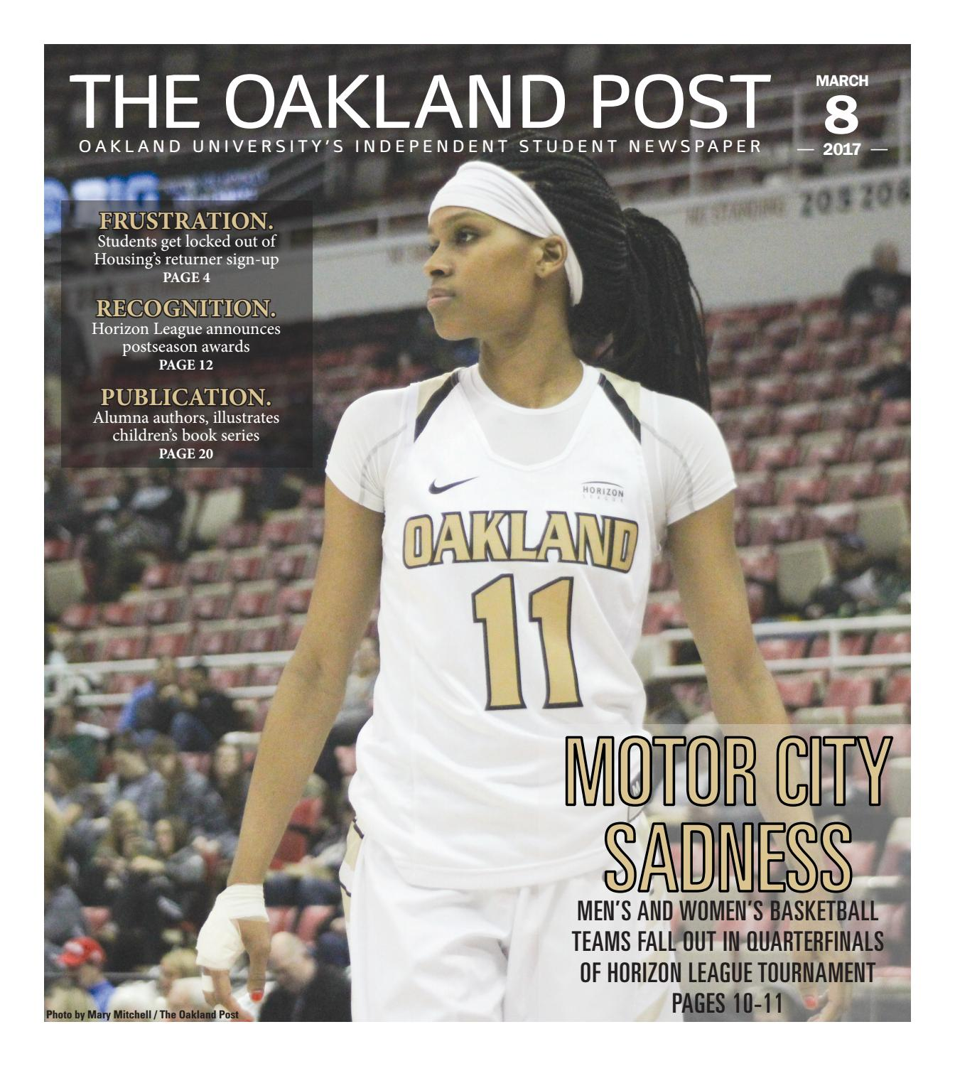 62822f23c3a0 The Oakland Post 3.8.17 by The Oakland Post - issuu