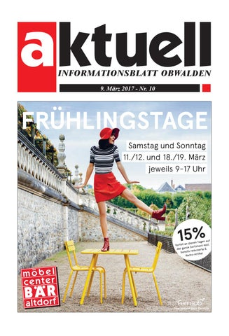 1d53bf5bb0d5 Aktuell Obwalden 10-2017 by Aktuell Obwalden AG - issuu