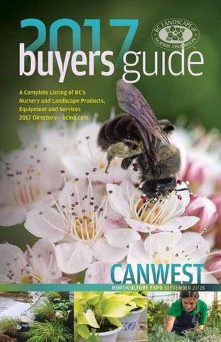 BC Landscape & Nursery Association: Buyers Guide & Directory