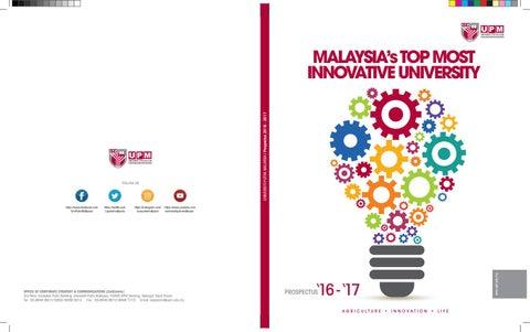 Upm Prospectus 2016 2017 By Universiti Putra Malaysia Issuu