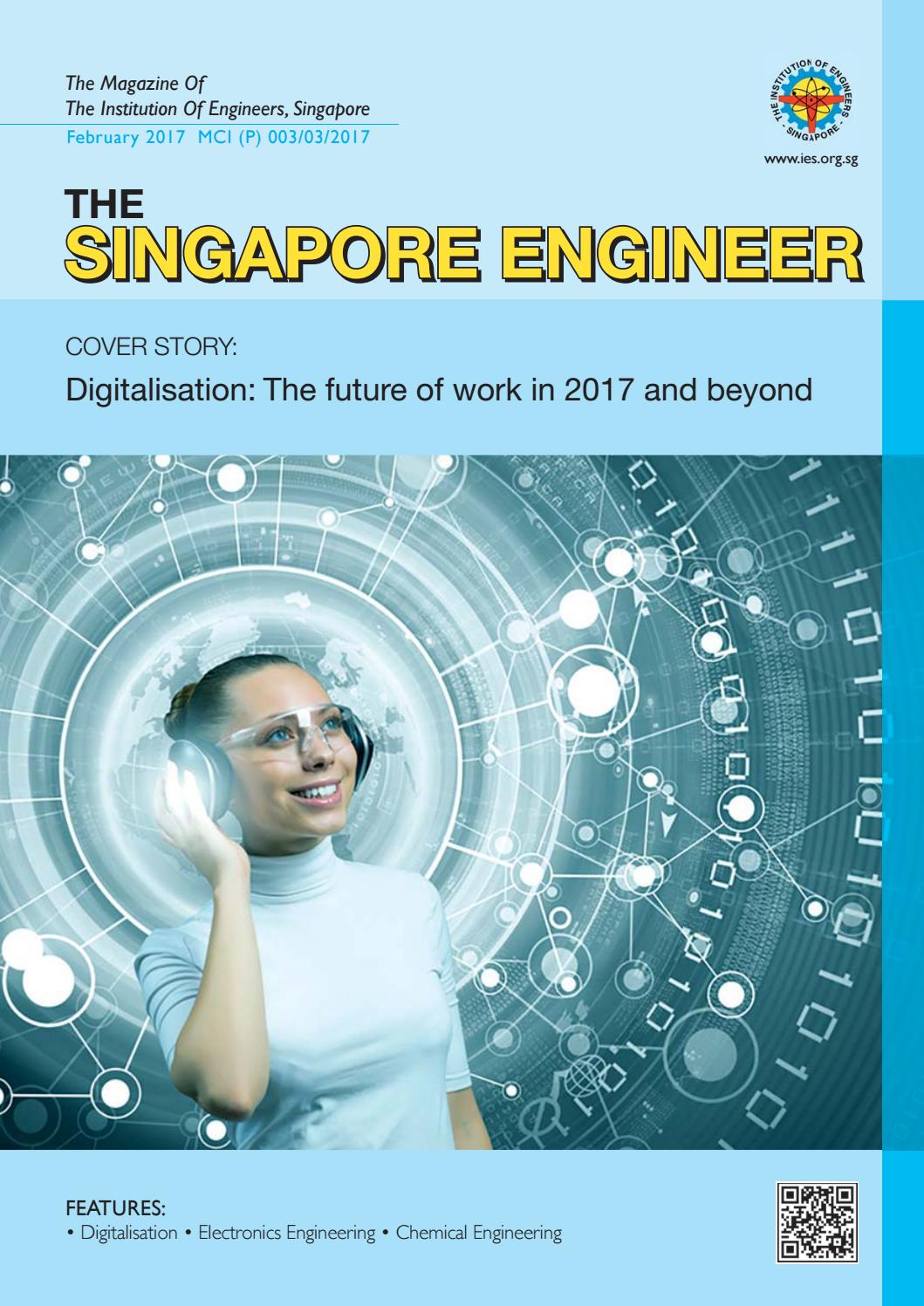 The Singapore Engineer February 2017 By Issuu Piping Layout Jobs In
