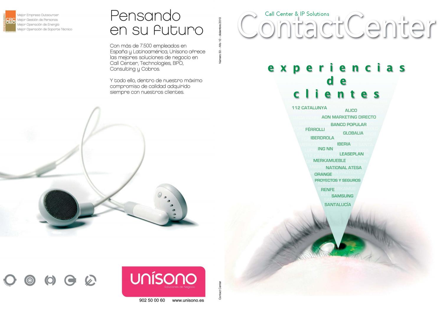 Contact Center - 53 by Peldaño - issuu
