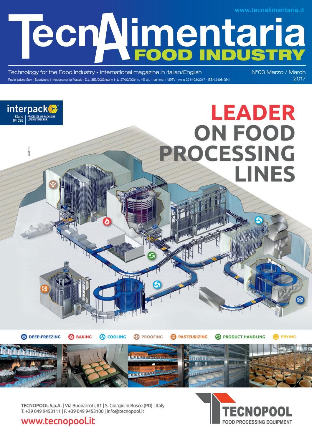 9d08d2ab3b TecnAlimentaria Food Industry Marzo/March 2017 by TecnAlimentaria Magazines  - issuu