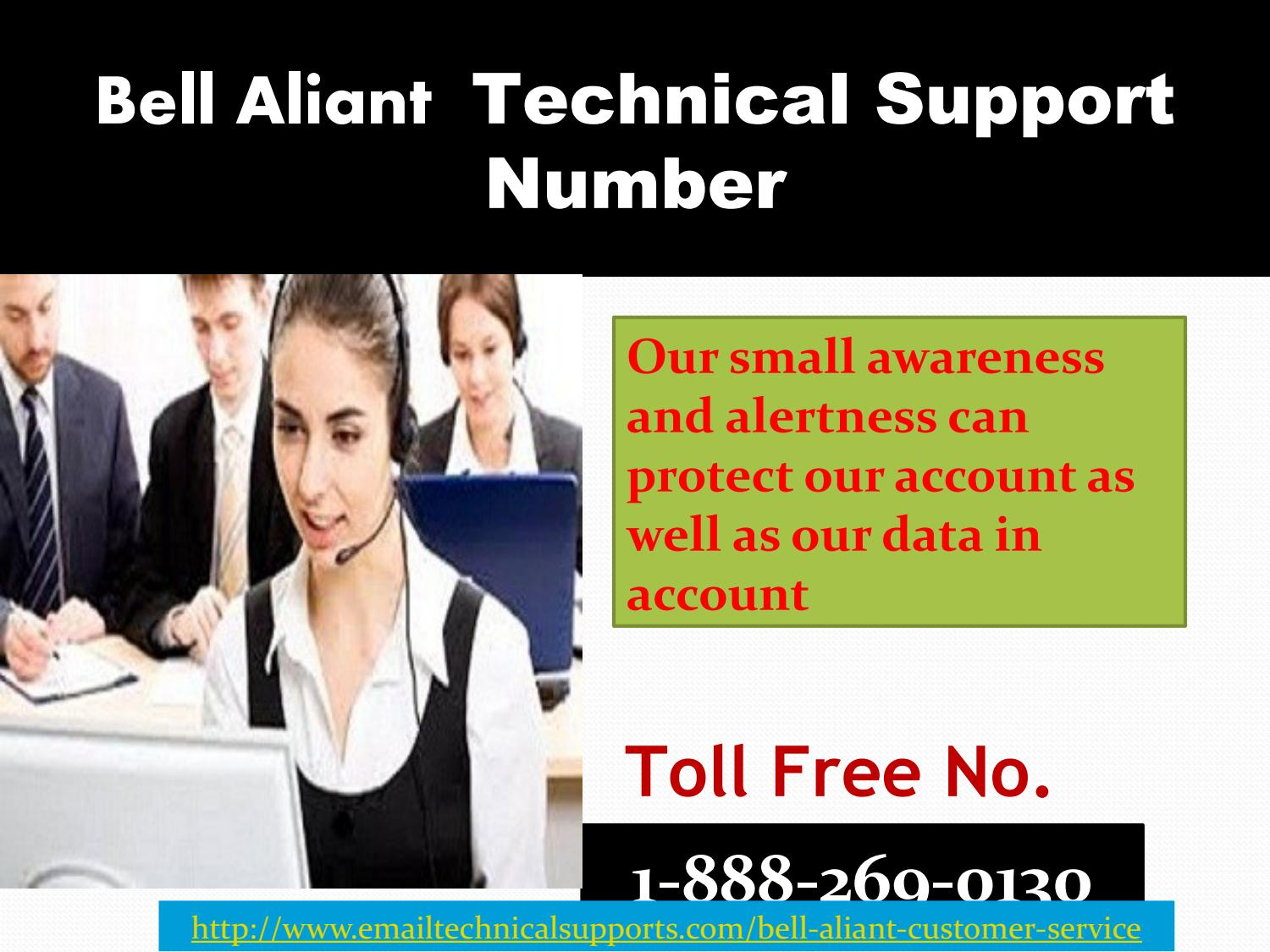 Bell aliant 1-888-269-0130 tech support phone number by