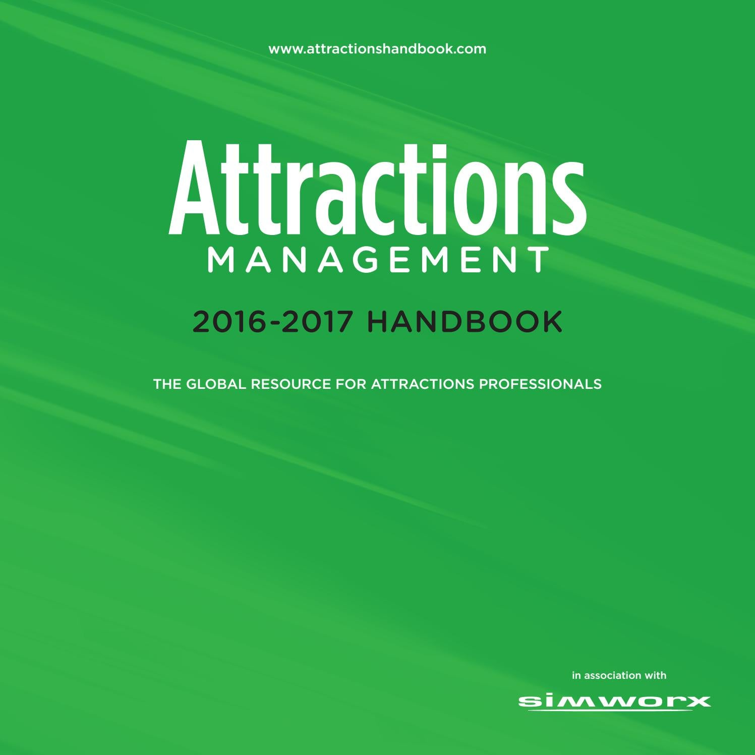 Attractions Management Handbook 2016 2017 By Leisure Media Issuu Alexandre Christie Ac 6448 Md Silver Black Rose Gold