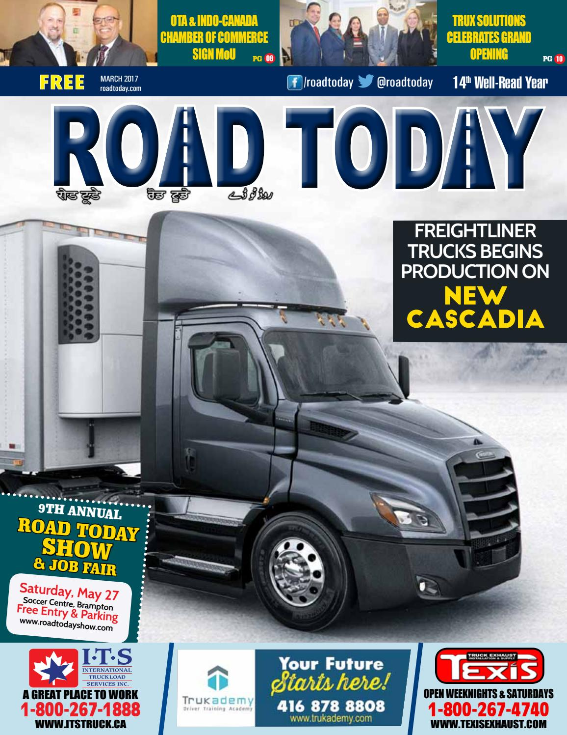 Road Today March 2017 by Road Today - issuu