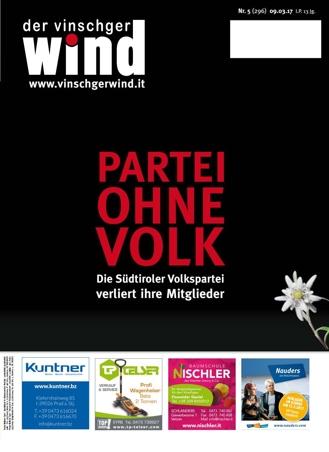 Zeitung Vinschgerwind Ausgabe 5-17 Vinschgau Südtirol by Vinschgerwind -  issuu