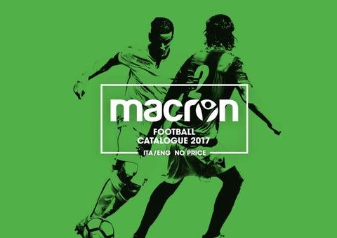 2017 Macron Soccer Catalogue