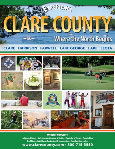 Clare County CVB 2017 Vacation & Business Guide by Lori Schuh issuu