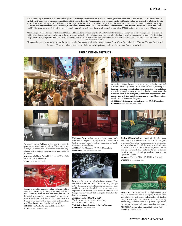 Fiori Chiari 9.Coveted Magazine 06 By Covet Edition Issuu