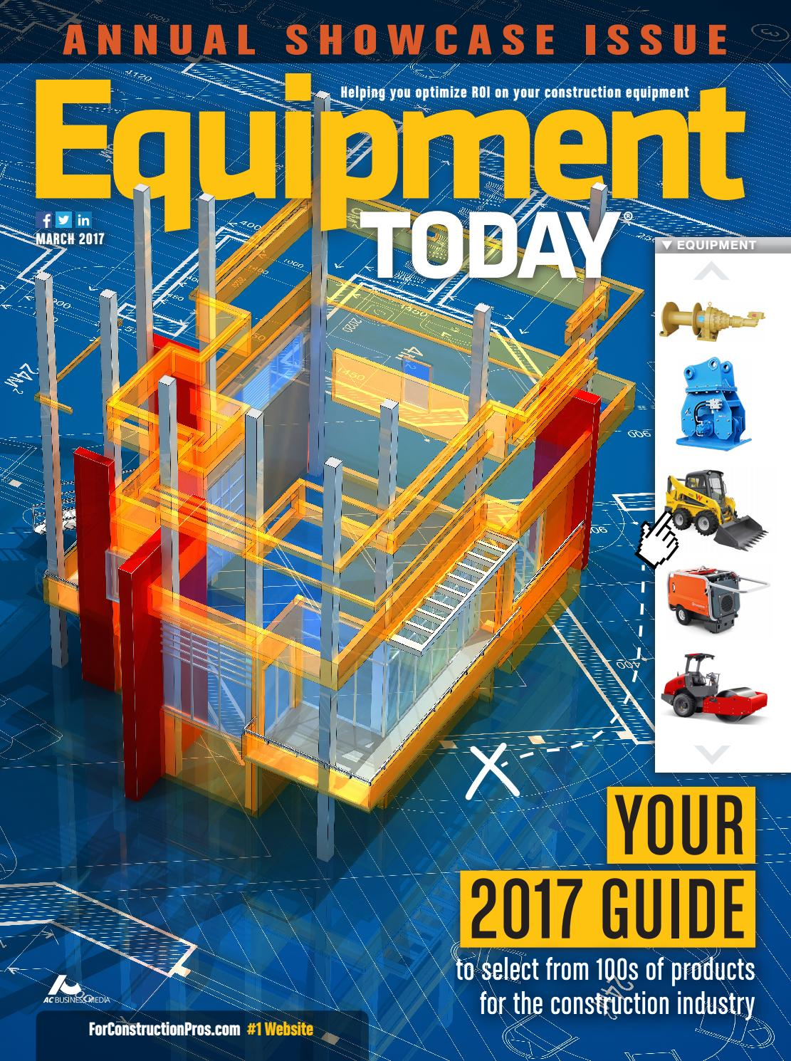 Equipment Today March 2017 By Forconstructionproscom Issuu John Deere 310d Electrical Problems Please Help