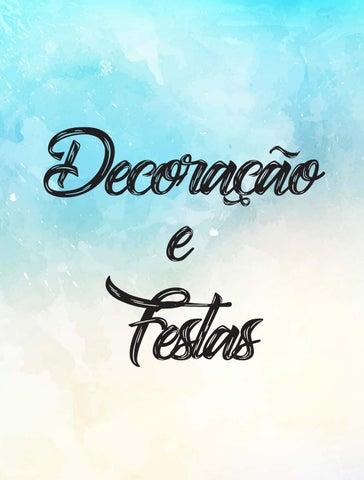 f13fafc99 Decoração e Festas by Cris Marques - issuu